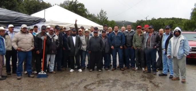 Integrantes de Sindicato de Minas