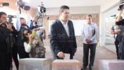 Acude MAR a emitir su voto y pide a zacatecanos vayan con libertad a las urnas